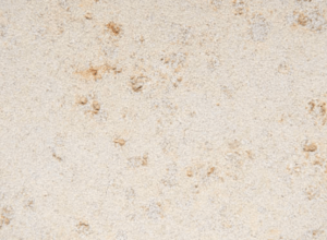 Юрский мрамор бежевый верхний слой Castello - пескоструйная обработка
