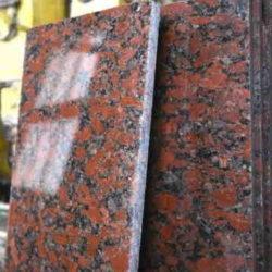 Плитка гранитная Капустинский 300х500х20 Полированный