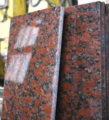 Плитка гранитная Капустинский 300х600х20 Полированный