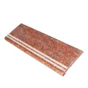 Гранитная ступень Марпл Ред G562 350×1500×18 Полированная