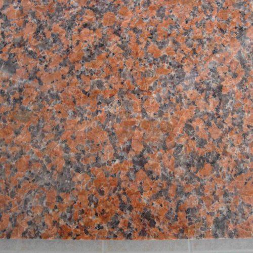 Гранитная плитка Марпл Ред G562 300×600×18 Полированный