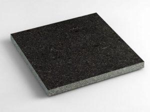 Гранитная плитка Габбро Другорецкое 300×300×20