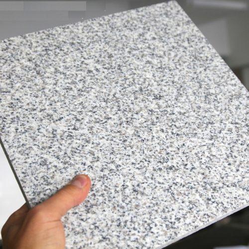 Гранитная плитка Роял Вайт G603 600×600×18 Полированный
