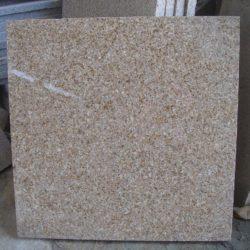 Гранитная плитка Сансет Голд G682 305×305×10 Полированный