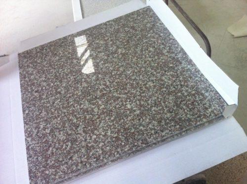 Гранитная плитка Бейнбрук Браун G664 300×600×30 Термообработанный