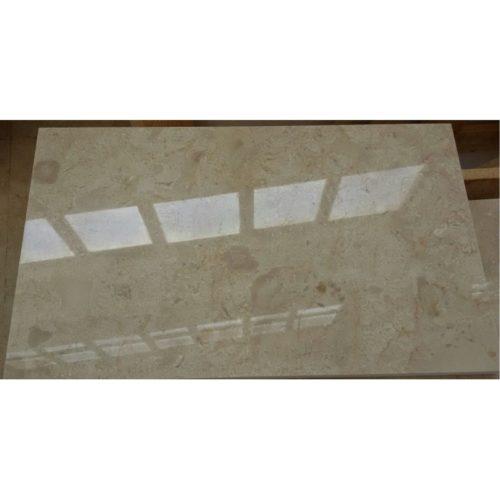 Мраморная плитка Крема Нова 600×600×18 Полированная