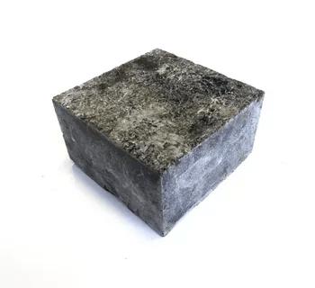 Брусчатка лабрадорит 100х100х50 Термообработанная