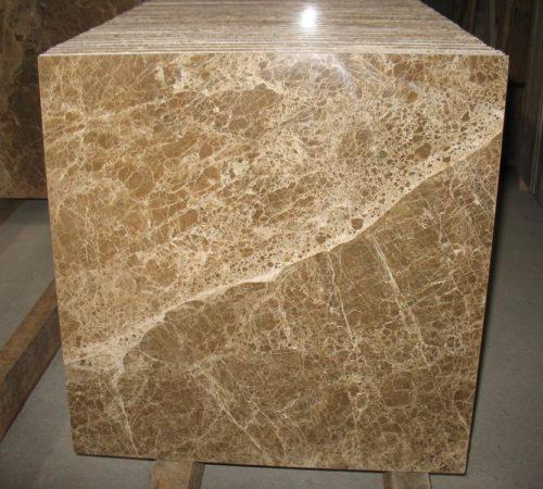 Мраморная плитка Имперадор Лайт 600×600×18 Полированная
